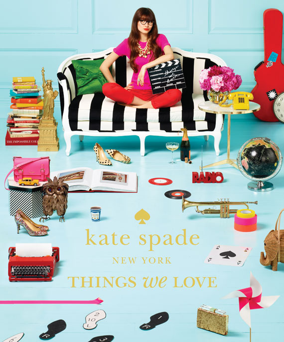 Kate Spade Book - Things We Love - Cover