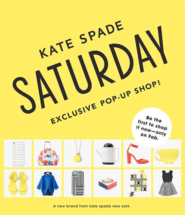 Kate Spade Saturday Pop up show at Fab 2