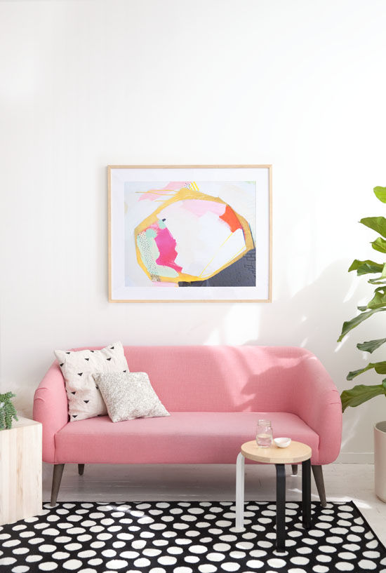 My Style Republic - Modern Pink Sofa Inspirations and Options