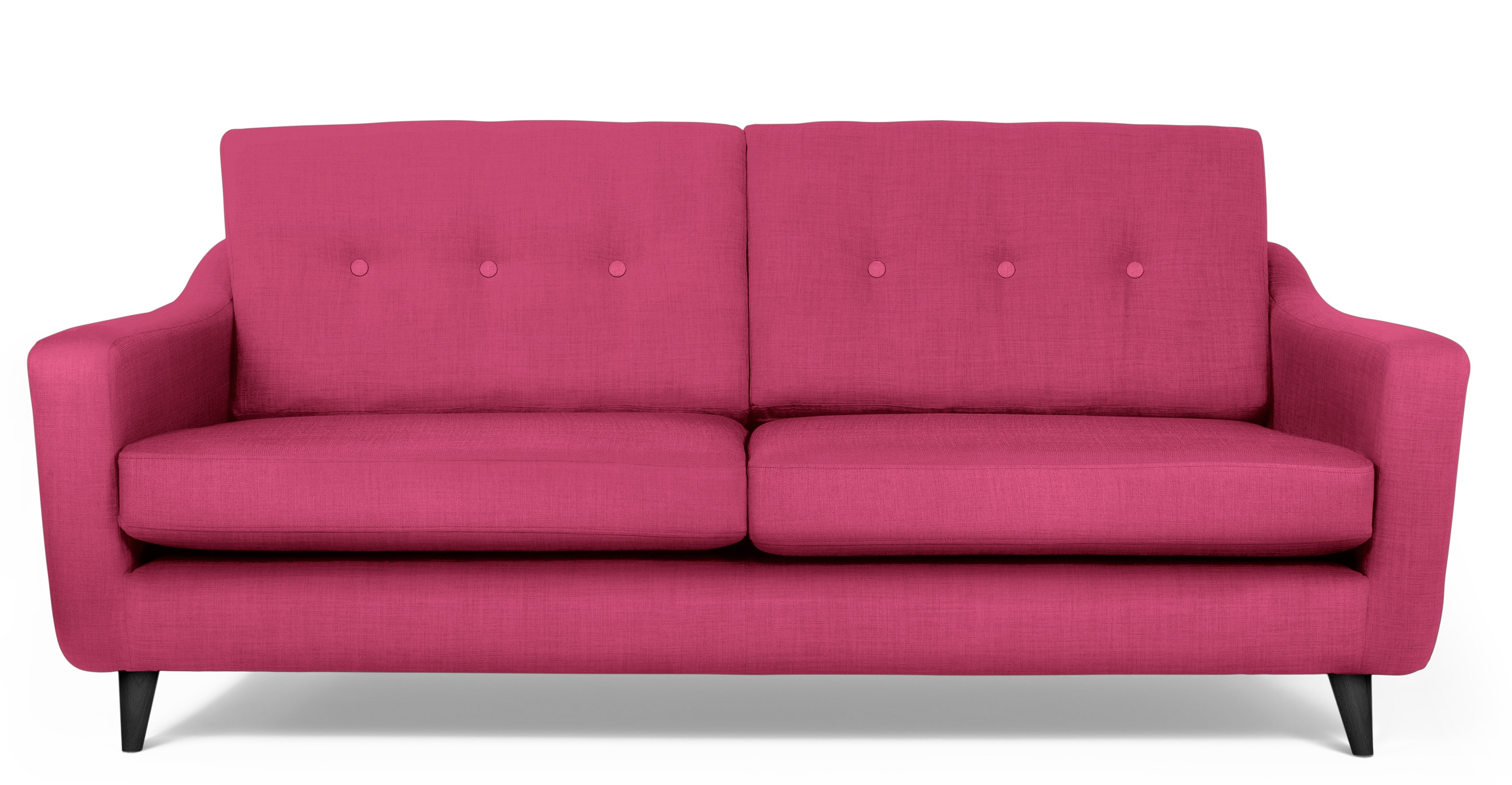 A Modern Pink Sofa Is Curly What I M Coveting Sofas Are Sprinkled In Magazine Layouts Pinterest And Blogs Love