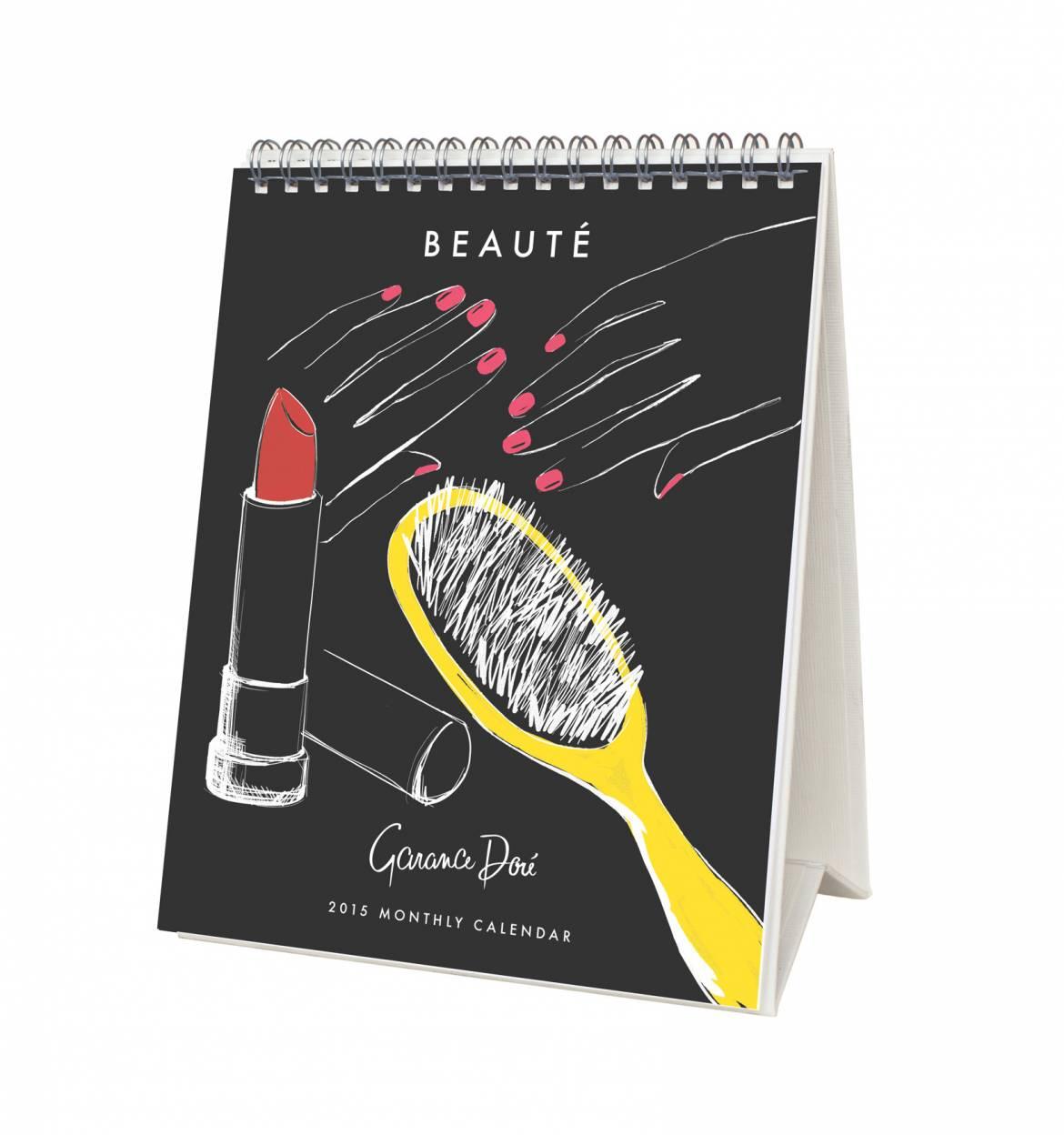 2015 Calendar - Beaute by Garance Dore