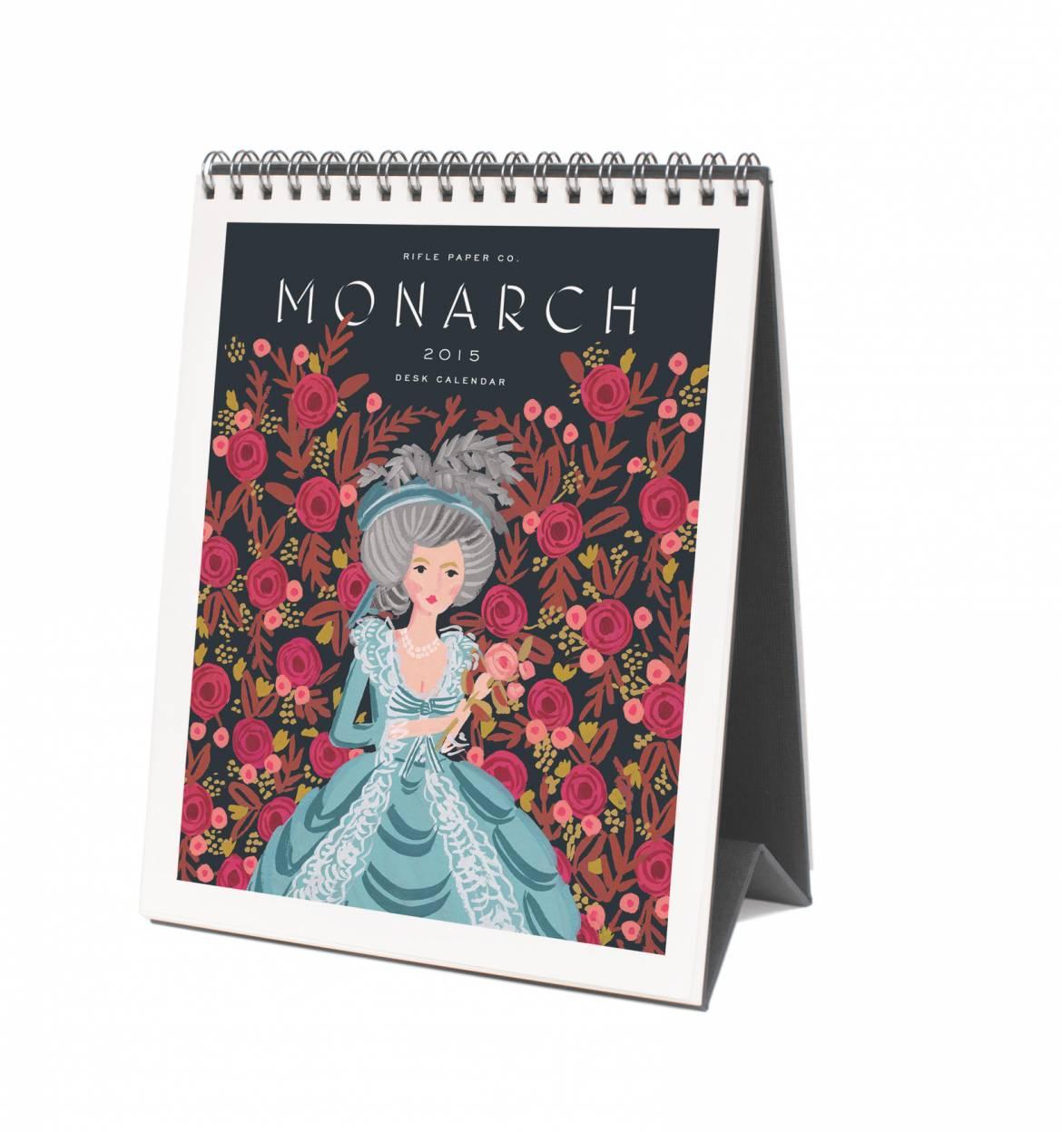 2015 Calendar - Monarch Flip Calendar