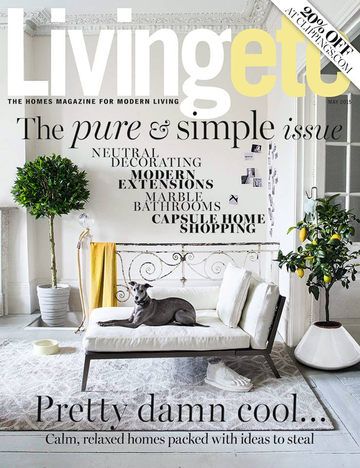 Living Etc May 2015 Cover
