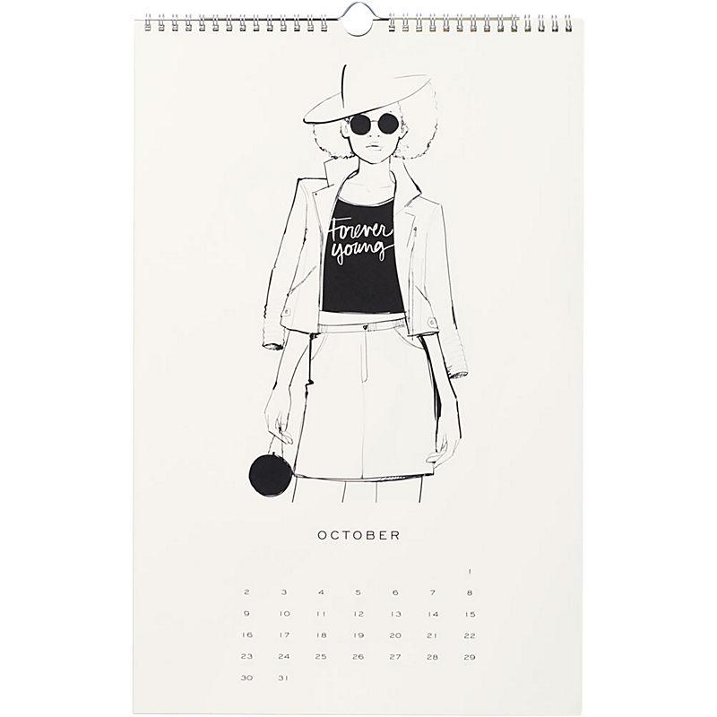Garance Dore 2016 Wall Calendar - October