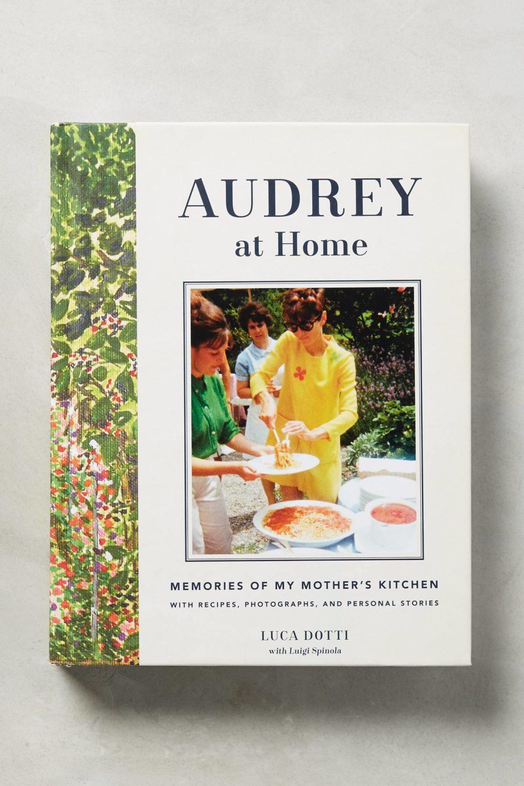 Audrey At Home - Audrey Hepburn Cookbook - 1